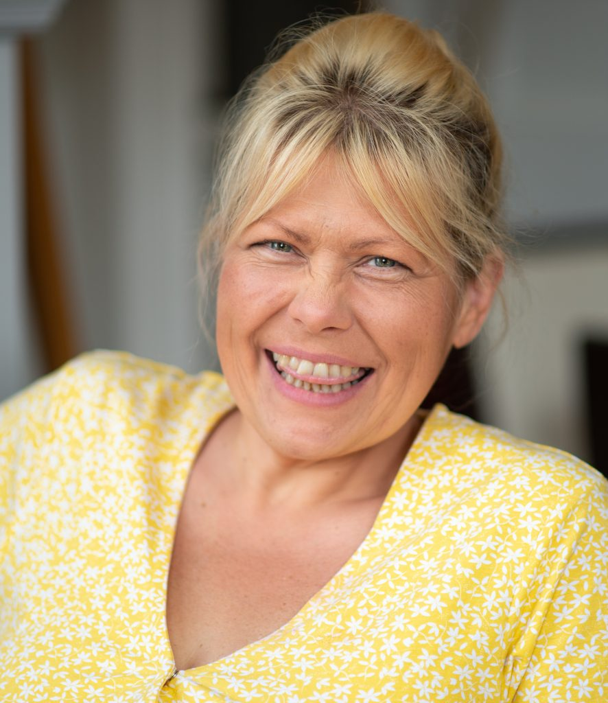 Helena Giles, owner of Your Beautiful Day UK  Photo credit: Elizabeth Melvin Photography